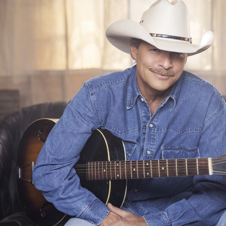 ALAN JACKSON IS INDUCTED INTO THE COUNTRY MUSIC HALL OF FAME.