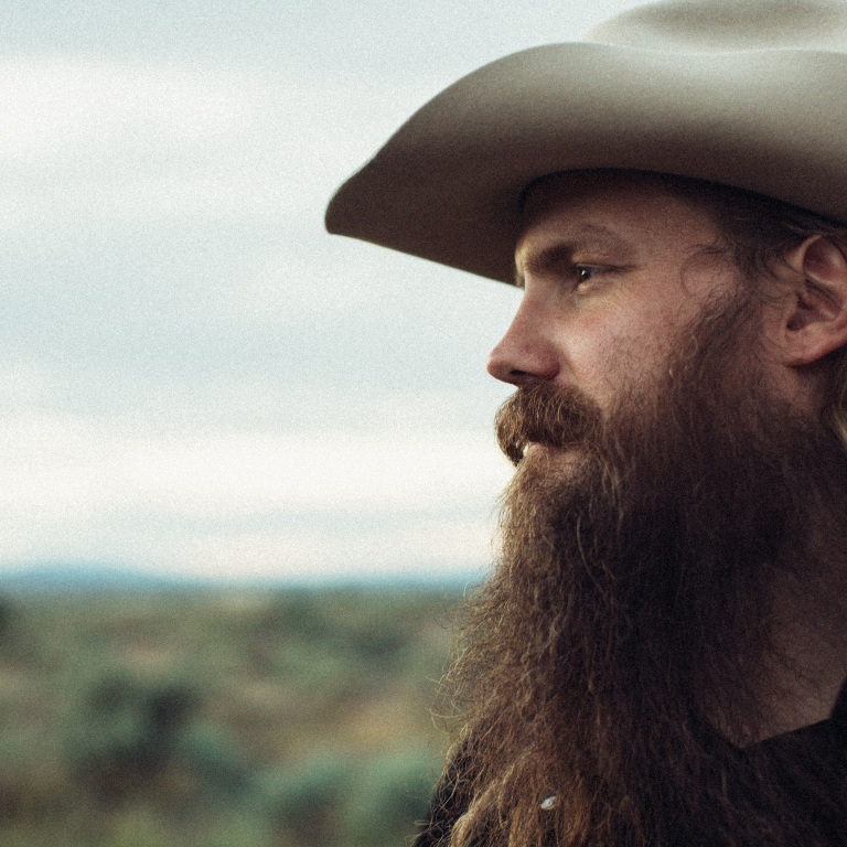 CHRIS STAPLETON ENJOYS THE CREATIVE PROCESS.