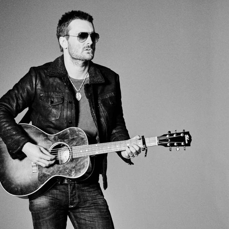 ERIC CHURCH'S SON HELPS OUT ON TOUR.