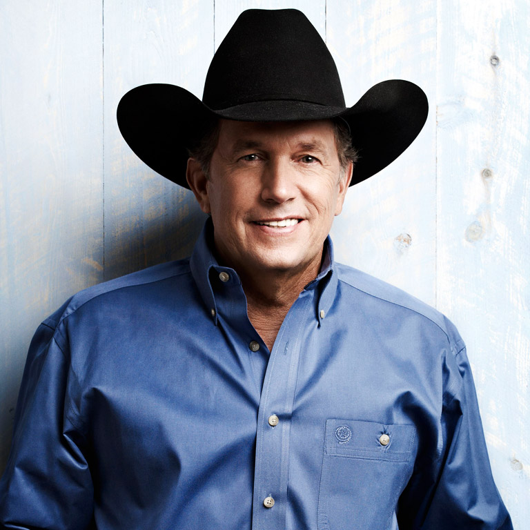 TEXAN GEORGE STRAIT 'RISES' TO THE CHALLENGE.