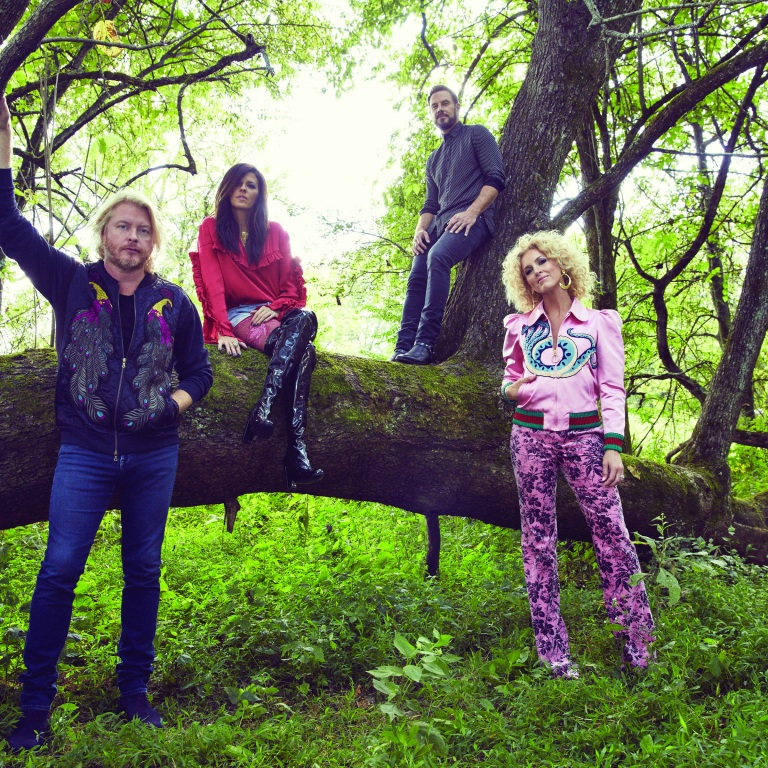 LITTLE BIG TOWN RELEASE THEIR NEW SINGLE, 'HAPPY PEOPLE.'