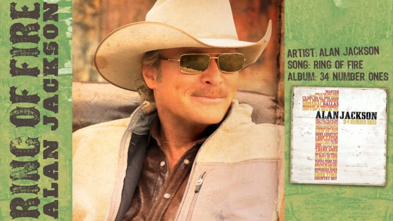 "Alan Jackson – ""RING OF FIRE"" (audio)"