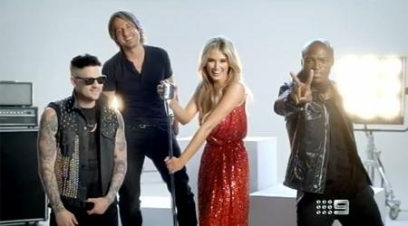KEITH URBAN IN NEW PROMOTIONAL SPOT FOR  'THE VOICE' AUSTRALIA. (VIDEO)