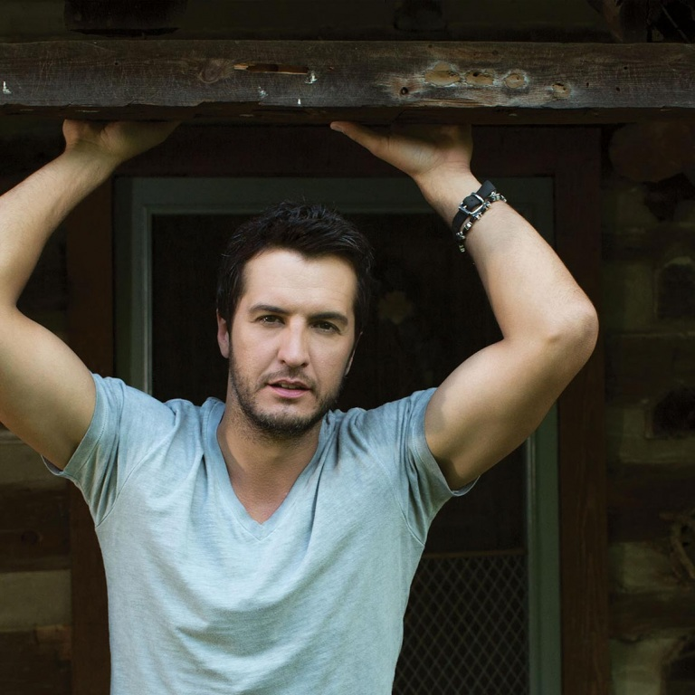LUKE BRYAN HEADS OVERSEAS FOR THE FIRST TIME.