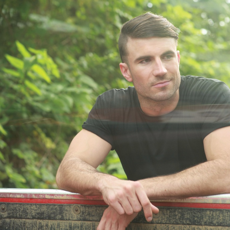 SAM HUNT IS LOOKING FORWARD TO APPEARING ON THE ELLEN DeGENERES SHOW.