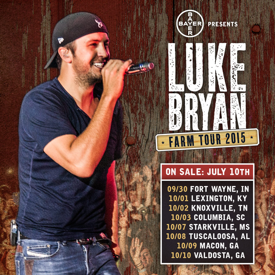 Pressroom luke bryan announces dates for farm tour 2015 artist luke bryan lb ft sq 1 m4hsunfo