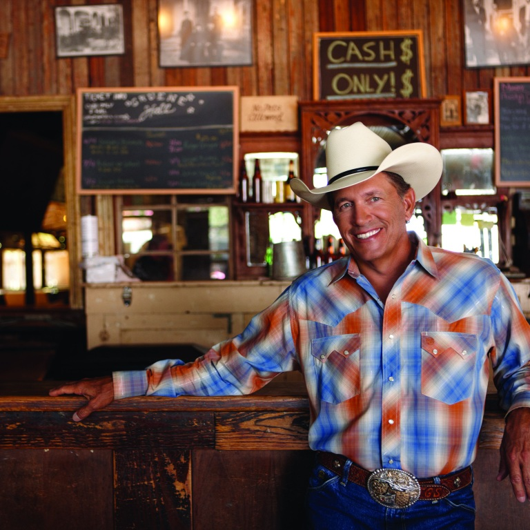 GEORGE STRAIT RAISES MORE THAN 1.5 MILLION DOLLARS FROM HIS ANNUAL GOLF INVITATIONAL.
