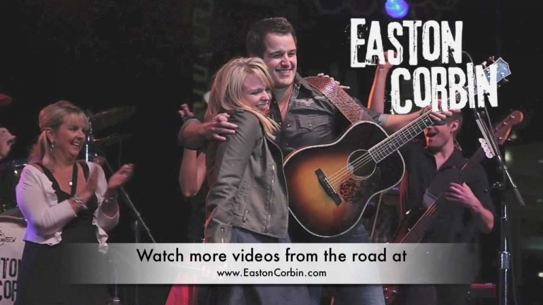 Easton Corbin on the road in Louisville, KY
