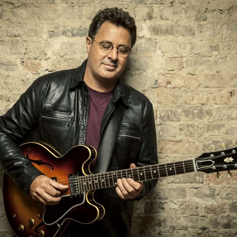 VINCE GILL PREPS FOR ALBUM RELEASE WEEK.