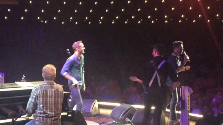 Surprising Drew Baldridge at his Grand Ole Opry Debut