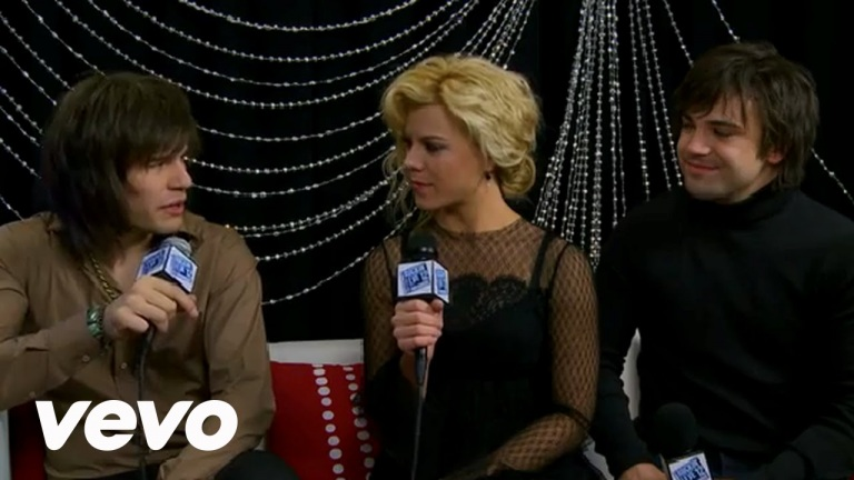 The Band Perry – On Their GRAMMY Nomination (NYRE 2012)