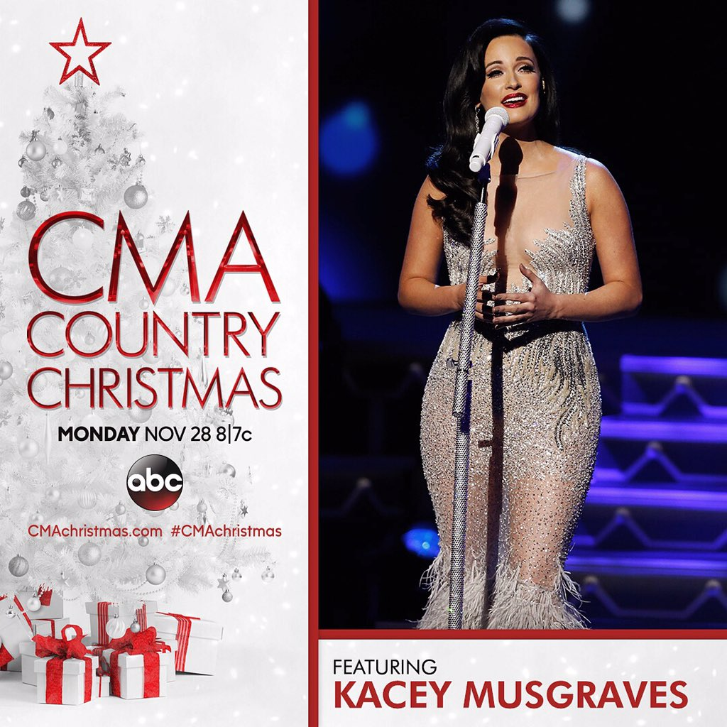 Pressroom | KACEY MUSGRAVES BRINGS HER CHRISTMAS SPIRIT TO THE CMA ...