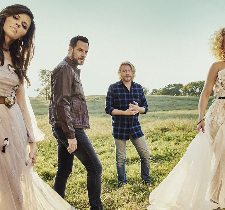 LITTLE BIG TOWN GETS A LITTLE HELP FROM NASA AND THE PLANET JUPITER FOR THEIR TAKE ON 'ROCKET MAN.'