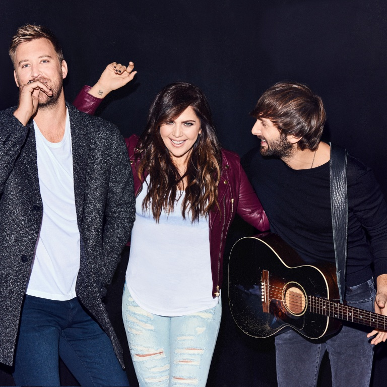 GO BEHIND-THE-SCENES WITH LADY ANTEBELLUM AT THIS YEAR'S CMT AWARDS.