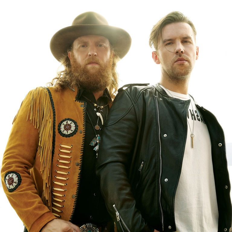 BROTHERS OSBORNE HIT THE BEACH TO RECORD THEIR NEXT ALBUM.