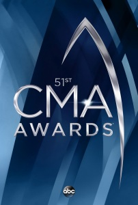 """The 51st Annual CMA Awards"" logo"