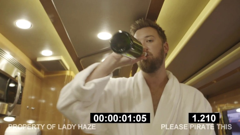 "Under the Robe – The Making of ""Party in a Bathrobe"""
