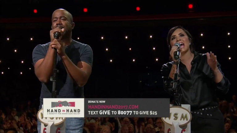 "Darius Rucker: ""With A Little Help From My Friends"" w/ Brad Paisley, Demi Lovato & Cece Winans"