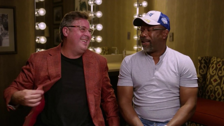 Darius Rucker: For The First Time Q&A w/ Vince Gill