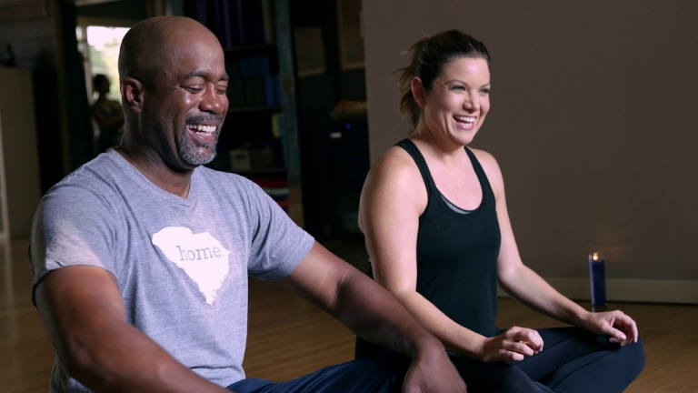 "Darius Rucker: For The First Time – Yoga Not ""Broga"""