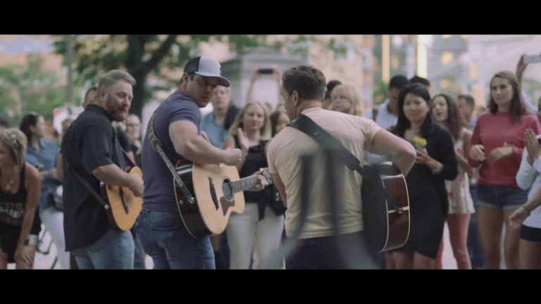 Easton Corbin – Behind the Scenes – NYC Pop-Up Show