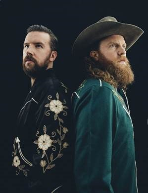 BROTHERS OSBORNE ENJOYED THEIR BLUE COLLAR RAISING.