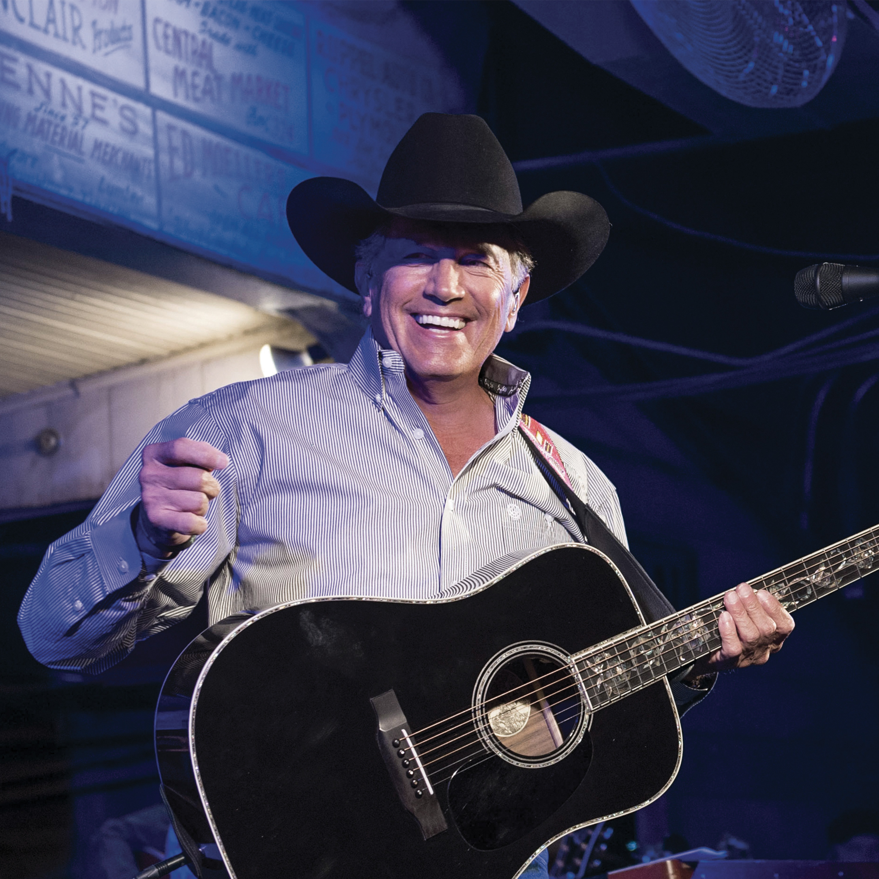 "GEORGE STRAIT'S ""EVERY LITTLE HONKY TONK BAR""  MOST-ADDED AT COUNTRY RADIO!"